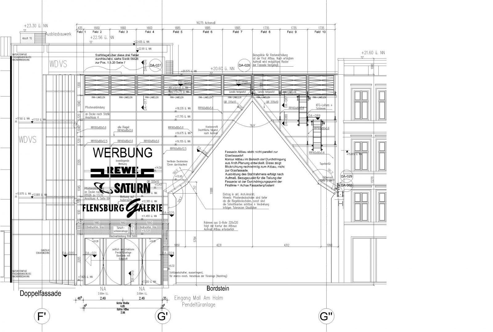 ekz am holm flensburg risse. Black Bedroom Furniture Sets. Home Design Ideas